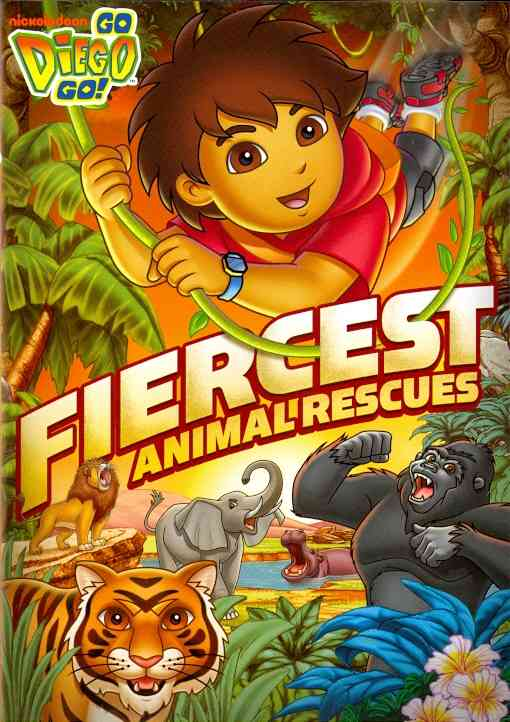 GO DIEGO GO:FIERCEST ANIMAL RESCUES BY GO DIEGO GO (DVD)