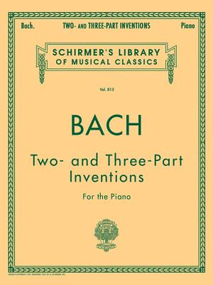 15 Two- and Three-part Inventions By Bach, Johann Sebastian (COP)/ Czerny, Carl (CRT)